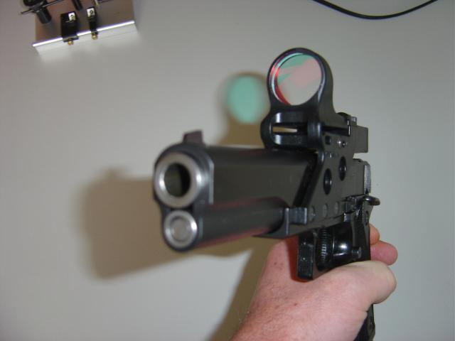 Infinity cal .45 with C-More scope